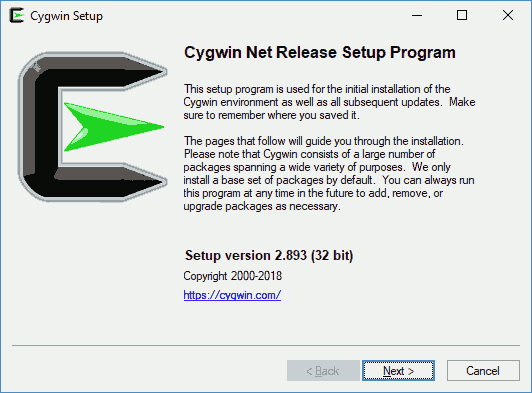 Installing Cygwin Image 01